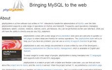 MySQL数据库管理工具-phpMyAdmin
