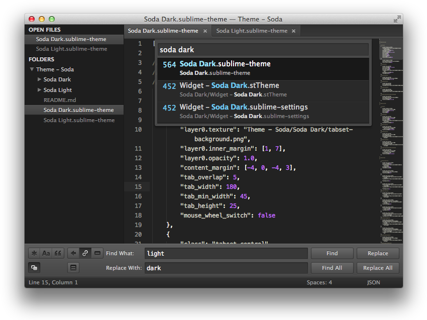 Sublime Text 常用的命令快捷键  第27张
