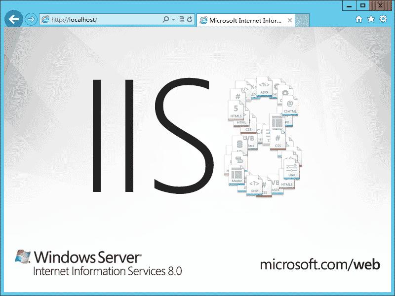 Windows Server 2012 IIS8 安装配置方法  第1张